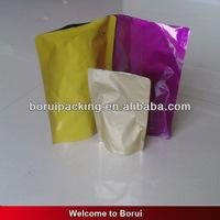 100% biodegradable plastic bag,stand up Aluminum foil pouch