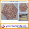 19.5''x6K 3 fold pencil umbrella,mini umbrella,folding umbrella