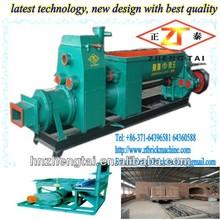 solid bricks equipment/hollow clay bricks in refractory/caly brick machine,automatic vacuum extruder clay brick machine