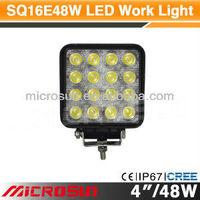"4"" 48W Off Road LED Work Light truck trailer rear lights led"