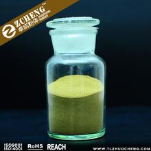 The spread of brass powder