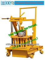 hollow block machine in india moving brick making machine