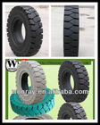 Hot sell natural rubber solid tire 28x9-15,solid wheel for forklift