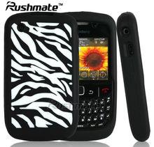 Zebra Design Covers For Blackberry 8520/8530/9300 Laser Cut Cases