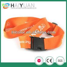 Customize Personalized Luggage Belt no minimum order