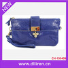 metal leaf accessory navy blue mk purse and wallet