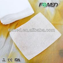 Alta qualidade descartável algodão almofadas de lã