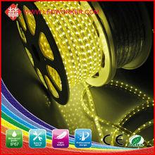 Haute tension 60 leds / mètre 3528 flexible led bande 120 v lumière stairway