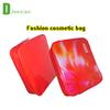 custom travel cosmetic bag with zipper