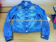 Ladies Denim fashionable jacket