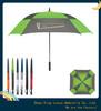 """30""""*8k double layer square golf umbrella"""