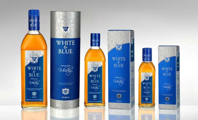 White amp Blue Premium Whisky Buy Brands Product On
