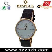 new design hot saled ultrathin stainless steel watch foe men an woman