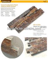 Kinslate Quarry and Factory Natural Multicolor Rusty Slate Culture Stone Veneer Panels Brick Veneer Lowes