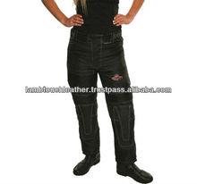Camo Flag Trouser/ Avalanche CE armour Vented Ladies Cordura pant / Cordura Biker Trousers.