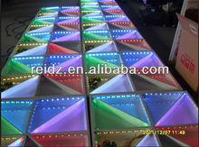 DMX512 controlled led display video dance floor night bar popular