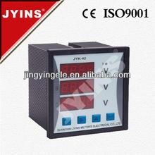 digital electric meter works 42x42 three phases meter (JYK-42-3V)