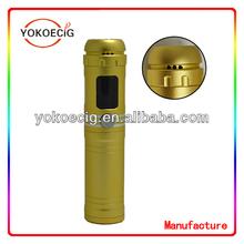 Christas gift for Newest Inventions E Cigarette 18650 Battery e cigarette MOD