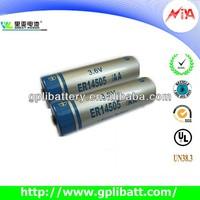 3.6V lithium dry battery aa er14505