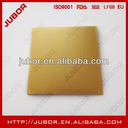 gold corrugated cardboard cake pad