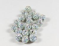 shamballa beads wholesale AB color