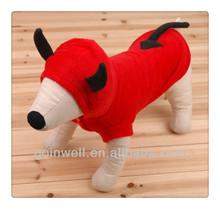 2013 Pet Chrismas transform Coat Red cute clothing Pet Apparel P0640318