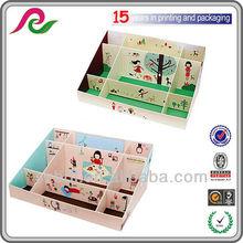 Sweet Country Girl 9-Cell Office Desktop Organizer Storage Box Case