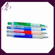 good quality click rubber grip Smoothly writing roller pen