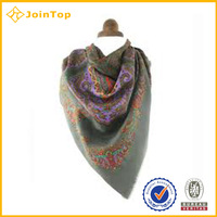 new desin silk scarf
