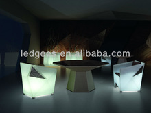 outdoor&indoor led chair/armed chair with color change