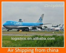 Air shipping to Van from Xiamen------Jason