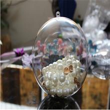 2012 Christmas tree Ornament Plain 3cm Plastic christmas ball 10g