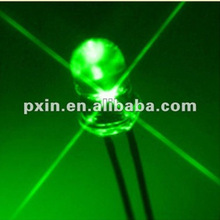 China wholesale green led diode 3mm