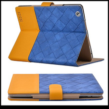 knitting button leather case for ipad mini