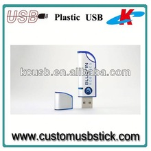 usb stick plastic case with logo
