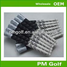 White/black New Decade Multi-compound Golf Grip