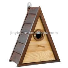 New Wooden Bird Nest / Triangle Wooden Bird House / Bird Cage for Sale