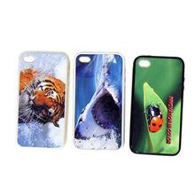 plastic sublimation case for I phone 4\4s - white