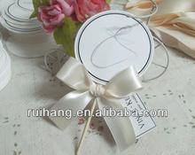 Simple Lollipop shaped wedding card party card--WT001
