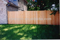 types of wooden fences