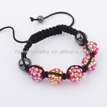 New Design Friendship Beads Shamballa Bracelets,Nylon String For Shamballa Bracelets SKB0097