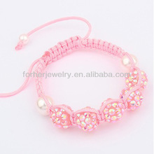New Design Friendship Beads Shamballa Bracelets,Nylon String For Shamballa Bracelets SKB0098