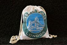 "Designer Muslin Bag ""London"""