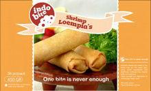 shrimp lumpia, shrim samosa