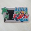 Tourist Souvenir 3D Rubber PVC Photo Picture Frame Plastic Holder Magnet Back
