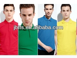 men's slim fit plain color polo t shirt