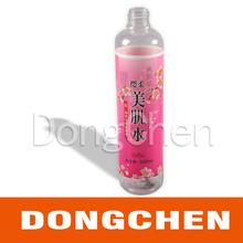 high quality custom self adheisve bottle label