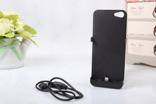 Travel 5v battery cover for iphone5 2800mah for 2800MAH