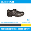 JINHAN fire safety shoes,crazy horse leather safety shoes,handmade safety shoes