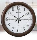 Wood wall clock / Wood circle wall clock / Basic clock
